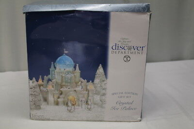 Department 56 Christmas In The City Crystal Ice Palace Special Edition #58922