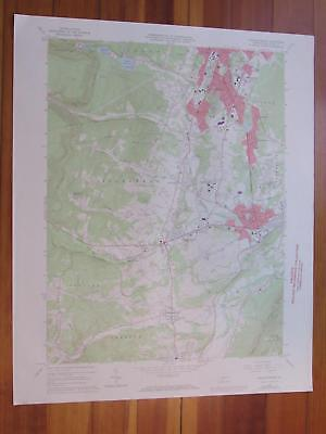 Hollidaysburg Pennsylvania 1973 Original Vintage USGS Topo Map