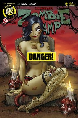 ZOMBIE TRAMP ONGOING #44 Abbas Discount Exclusive Rich Risque LTD 500  - PRESALE