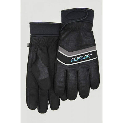 New Ice Armor Edge Black Waterproof Ice Fishing Gloves L Large 9799