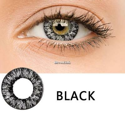 1pcs Big Eye Contacts Lenses Halloween Party Cosmetic Cosplay Colored DL0 01