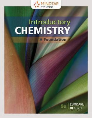 Introductory Chemistry: A Foundation 9th Edition by Steven Zumdahl (English) Har