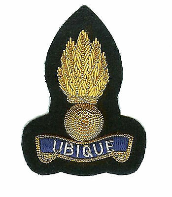 New Official Royal Engineers Officers Bullion Cap Badge