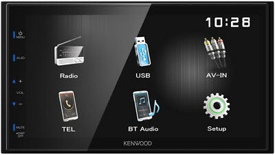KENWOOD DMX110BT Mediaceiver 2-Din mit Bluetooth