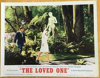 Anjanette Comer Robert Morse at Whispering Glades Loved One #4 lobby card 270