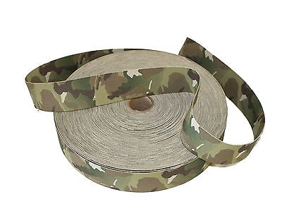 """50mm / 2"""" Double Sided Original Crye Multicam Elastic ( Military Webbing MTP"""