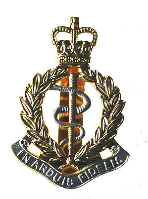 NEW OFFICIAL Royal Army Medical Corps CAP BADGE ( RAMC