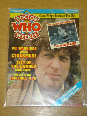 Doctor Who #16 1980 Jan 30 British Weekly Monthly Magazine Dr Who Dalek Cybermen
