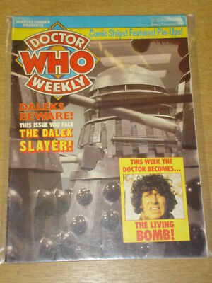 Doctor Who #20 1980 Feb 27 British Weekly Monthly Magazine Dr Who Dalek Cybermen