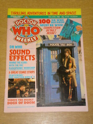 Doctor Who #29 1980 Apr 30 British Weekly Monthly Magazine Dr Who Dalek Cybermen