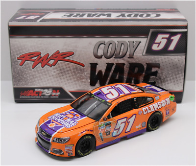 New 2017 Cody Ware #51 Clemson Tigers National Champions 1/24 Car