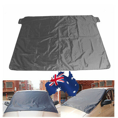AU! Magnetic Car Windscreen Cover Ice Frost Shield Snow Dust Protector Sun Shade