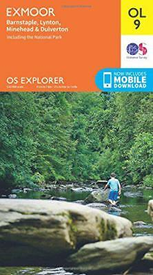 OS Explorer OL9 Exmoor (OS Explorer Map) by Ordnance Survey | Map Book | 9780319