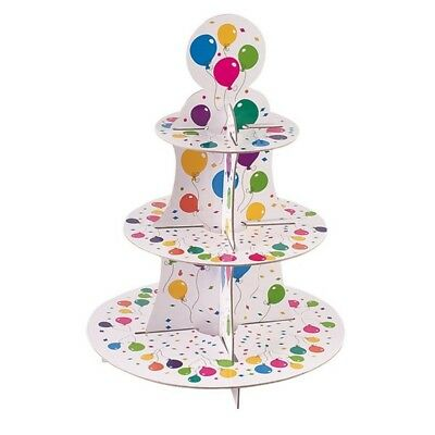 Balloon Cake Stand 3 Tiers Round - Givi Itali One Size Huge Saving
