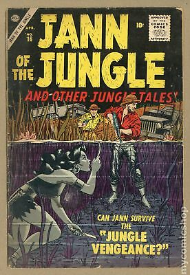 Jann of the Jungle #16 1957 GD 2.0