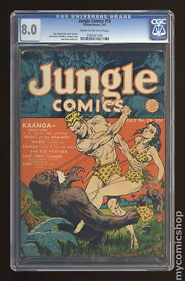 Jungle Comics (Fiction House) #19 1941 CGC 8.0 0180361006