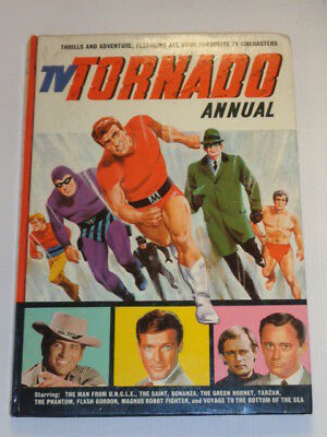 Tv Tornado 1967 British Annual Phantom Jarrold And Sons Hardback<