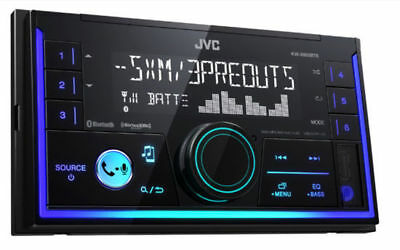 JVC Double DIN SiriusXM Ready In-Dash Digital Media Car Stereo | KW-X830BTS