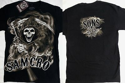 SONS OF ANARCHY SOA Charging Reaper Tv Show Long Sleeve