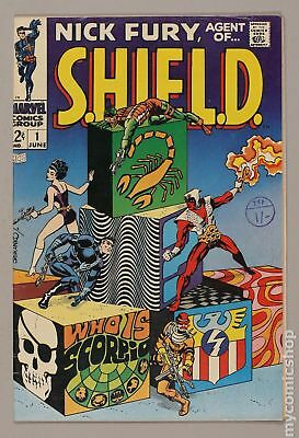 Nick Fury Agent of SHIELD (1st Series) #1 1968 FN 6.0 RESTORED