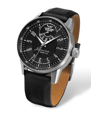 Vostok Europe GAZ14 Limousine Automatic Watch 560a517 - Leather Band - 43 mm
