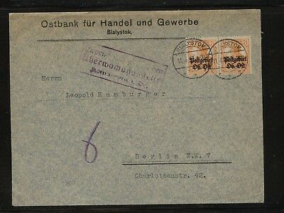 Lithuania   German occupation Bank  cover           KL1001