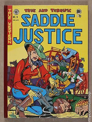 Saddle Justice HC (Gemstone) The Complete EC Library #1-1ST 1996 VF 8.0