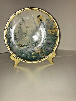 Lenox Golden Splendor Catherine McClung Collector Plate 1992 Limited Ed USA