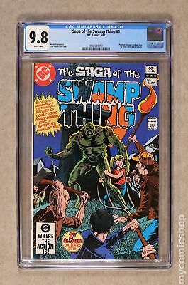 Swamp Thing (2nd Series) #1 1982 CGC 9.8 0962693013
