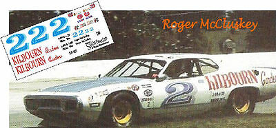 CD_1013 #2 Roger McCluskey   Charger    1:25 scale decals