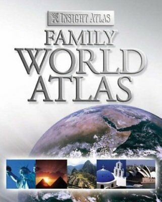 Insight Family World Atlas (Insight Atlases) by insightguides.com, Good Book (Ha