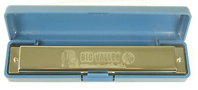 Harmonica diatonic Hohner Big Valley Echoes Tremolo Upright in C / C initiation