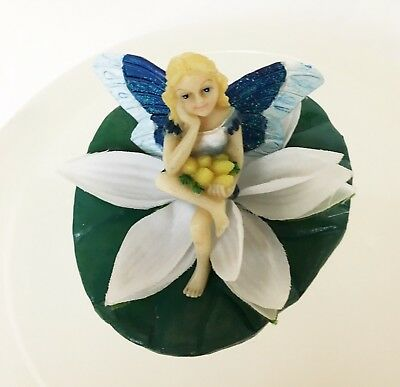 Floating Fairy On LilyPad
