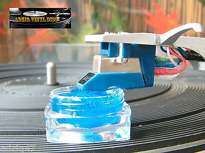 ♫ Stylus Cleaner Gel Polymer Cleansing Stiletto Cells Turntable Disc ♫