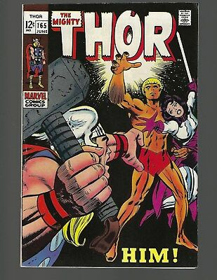 Thor #165 1st Full App Him