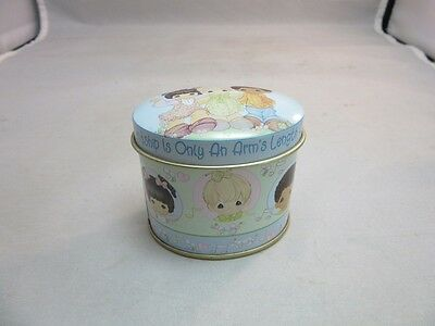 Precious Moments small candle in tin.Friendship gift. Unused