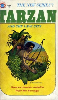 Tarzan and the Cave City PB (Gold Star Books) #1-1ST 1964 VF
