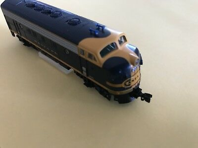 N Scale Kato EMD F7A Cigar Band DCC Fitted