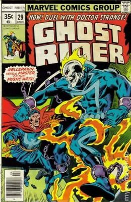 Ghost Rider (1st Series) #29 1978 VG 4.0 Stock Image Low Grade