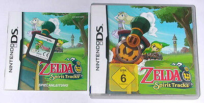 Spiel: THE LEGEND OF ZELDA SPIRIT TRACKS für Nintendo DS + Lite + Dsi + XL + 3DS
