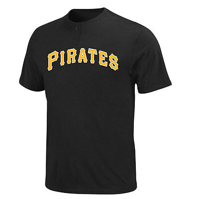 Pittsburgh Pirates 2 Button Officially Licenced MLB T shirt