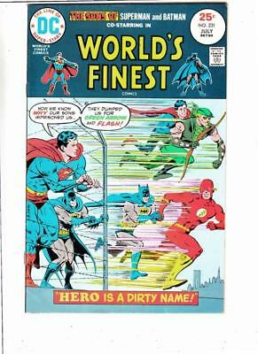 World's Finest # 231 strict VF appearance The Super-Sons of Batman and Superman