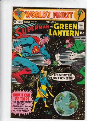 World's Finest # 201 strict VF-CoverNeal Adams!