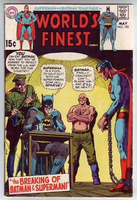 World's Finest # 193 strict VF appearance Robin solo back-up story.