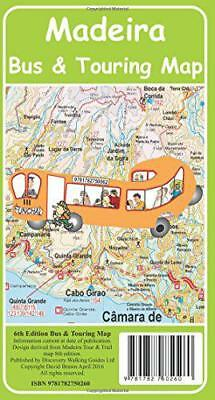 Madeira Bus & Touring Map by David Brawn | Map Book | 9781782750260 | NEW