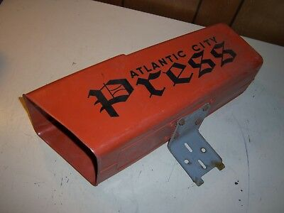 Plastic Newspaper Box - Atlantic City Press