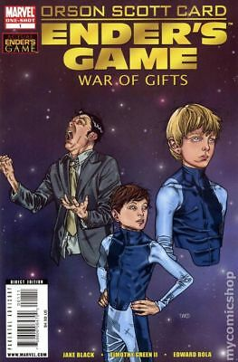 Enders Game War of Gifts (Marvel) #1 2010 NM Stock Image