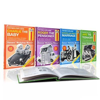 Personalised Haynes Explains Manuals - Just Add Name and Message