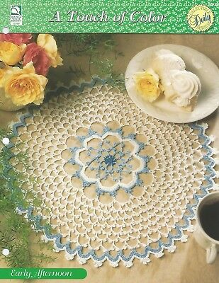 Blue Skies Doily Crochet Pattern A Touch of Color HOWB Series