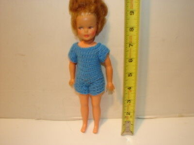 VINTAGE DOLL IDEAL TOY CO TAMMY PEPPER FRECKLES G 9 W Tammy Family 9 INCH